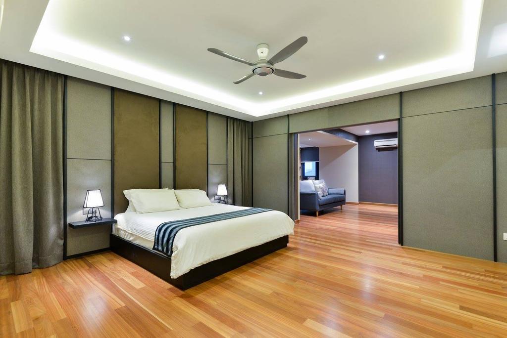Landed, Taman Taynton View, Cheras, Interior Designer, Torch Empire, Flooring, Indoors, Interior Design, Light Fixture