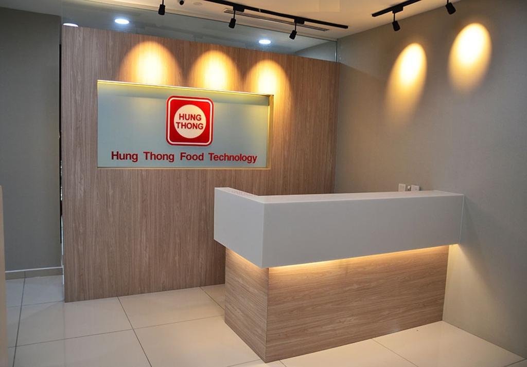 Binjai Soho, Commercial, Interior Designer, Spazio Design Sdn Bhd, Modern, Office, Track Lights, Track Lighting, Reception
