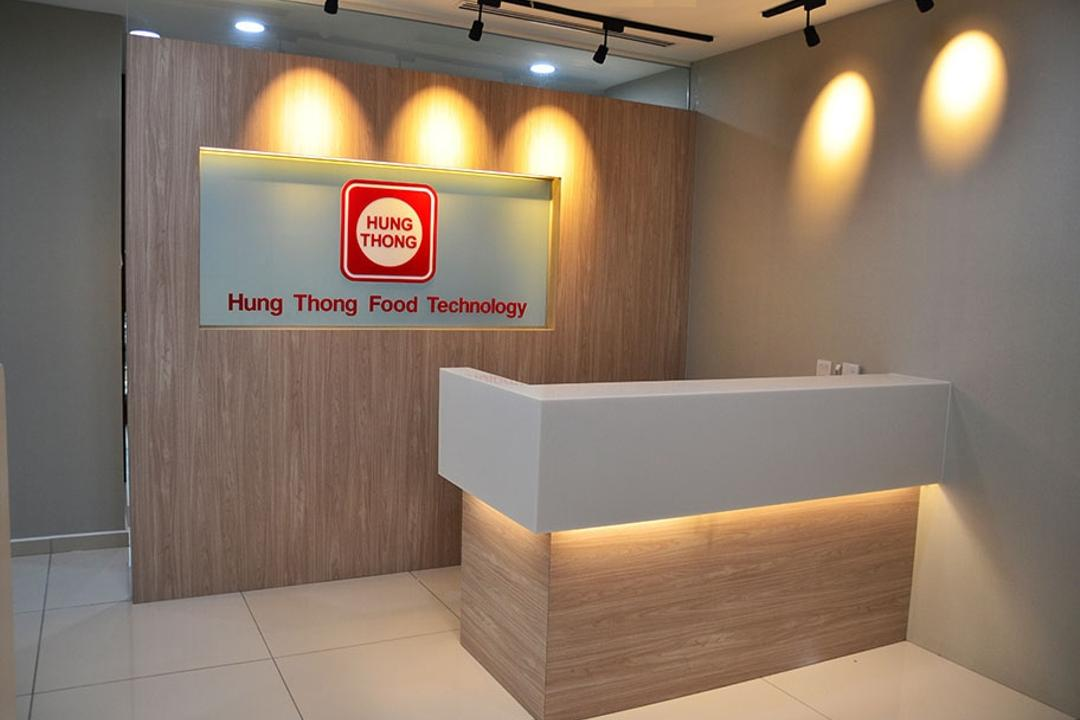 Binjai Soho, Spazio Design Sdn Bhd, Modern, Commercial, Office, Track Lights, Track Lighting, Reception