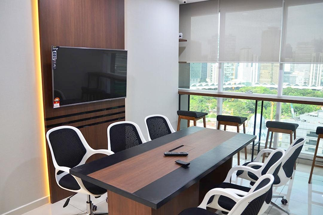 Binjai Soho, Spazio Design Sdn Bhd, Modern, Commercial, Office Chair, Tv, Meeting Room, Conference Room, Stools, Bar Stools, Blinds, Chair, Furniture, Dining Table, Table, Indoors, Room