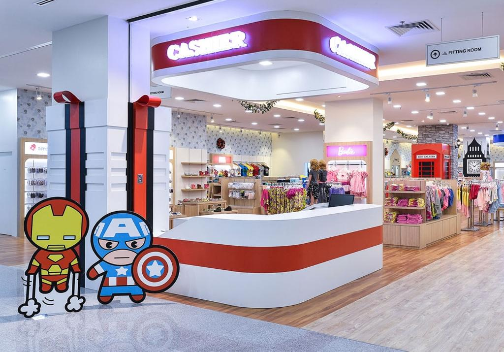 Kid's Gallery, Commercial, Interior Designer, Spazio Design Sdn Bhd, Traditional, Departmental Store, Clothes, Clothing, Kids, Store
