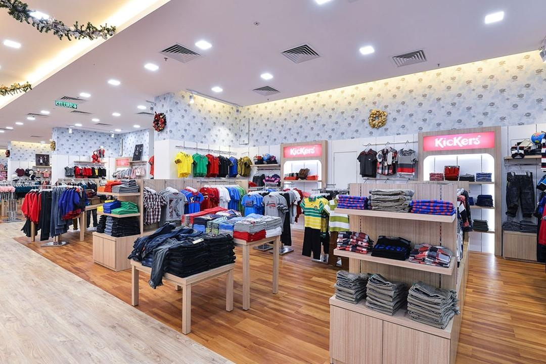 Kid's Gallery, Spazio Design Sdn Bhd, Traditional, Commercial, Clothes, Clothing, Departmental Store, Kids, Store, Clothing Store, Human, People, Person, Shop