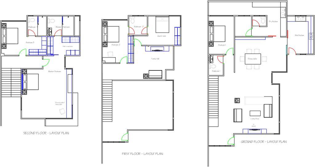 Industrial, Landed, Lake Fields, Interior Designer, Spazio Design Sdn Bhd, Floor Plan, Diagram, Plan