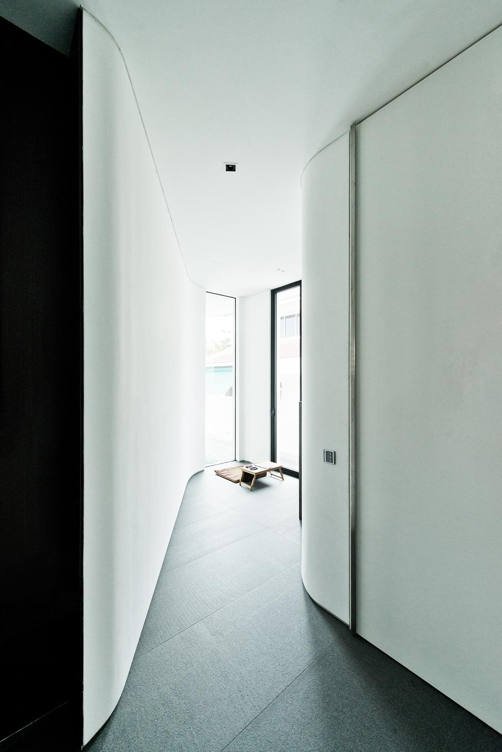 Modern, Landed, Tosca Street, Architect, Kite Studio Architecture, Curve Rom, Flooring