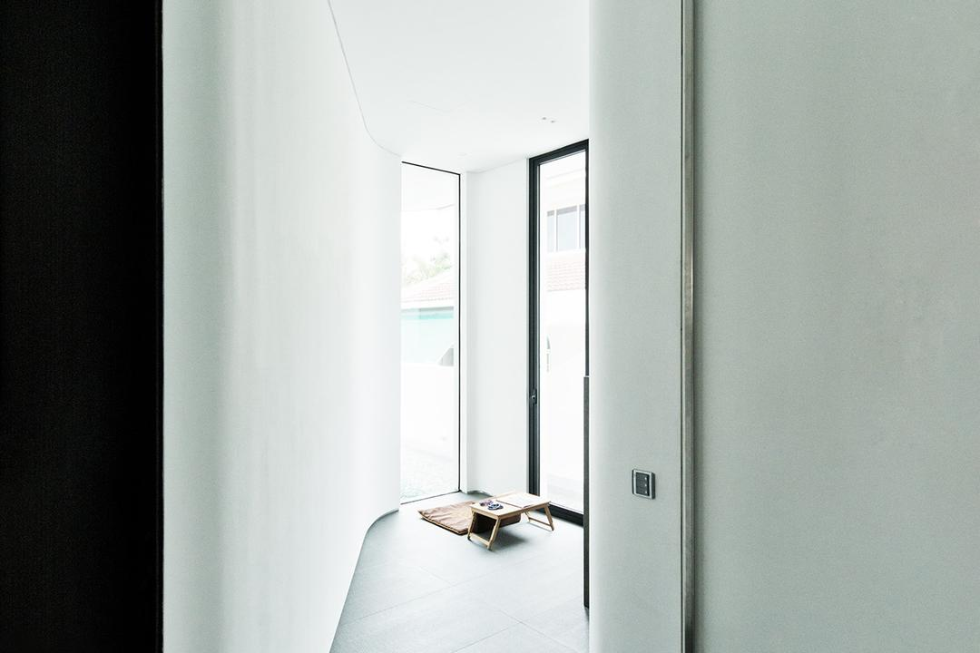 Tosca Street, Kite Studio Architecture, Modern, Landed, Curve Rom, Flooring
