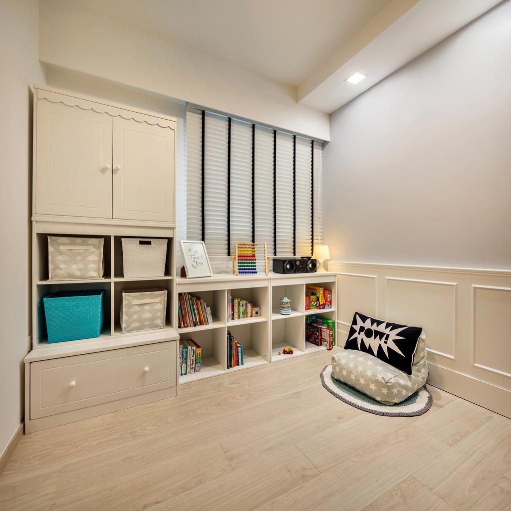 Modern, Condo, Study, Bellewaters, Interior Designer, Anhans Interior Design, Minimalist, HDB, Building, Housing, Indoors