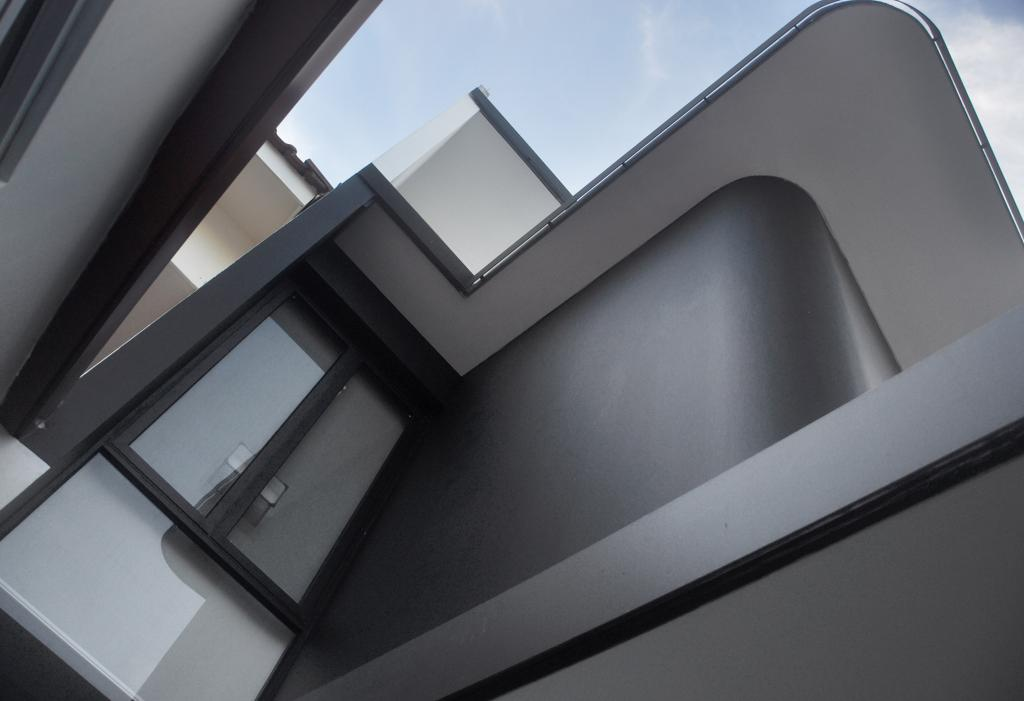 Modern, Landed, Palm Drive, Architect, Kite Studio Architecture, Windows, Black, Architecture, Building, Skylight, Window, Triangle