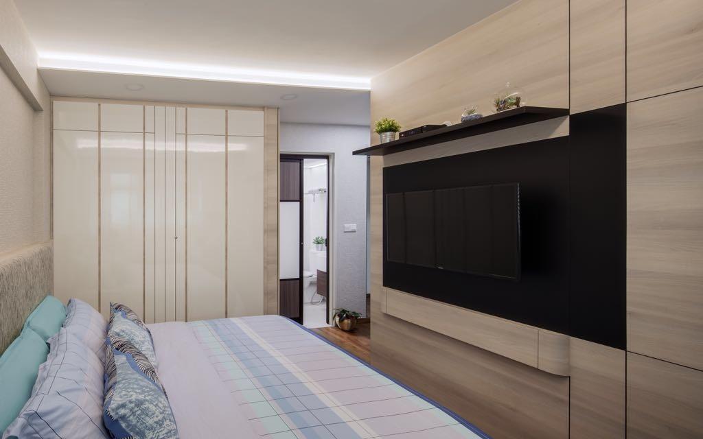 Modern, HDB, Choa Chu Kang, Interior Designer, T&T Design Artisan, Furniture, Sideboard, Building, Housing, Indoors
