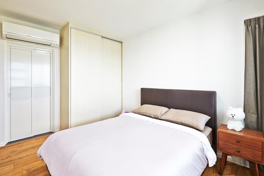 Ang Mo Kio, Space Define Interior, Scandinavian, Bedroom, HDB, Drawer, Furniture, Bed