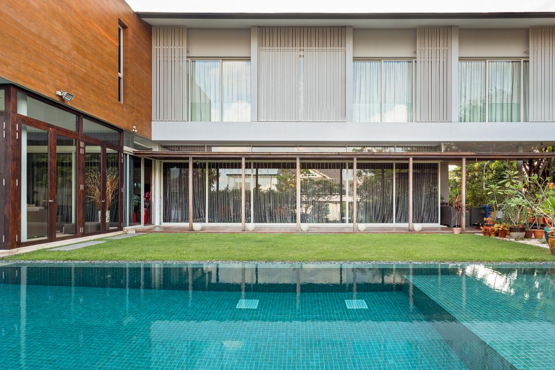 Cassia Drive, Create, Modern, Landed, Building, House, Housing, Villa, Flora, Jar, Plant, Potted Plant, Pottery, Vase