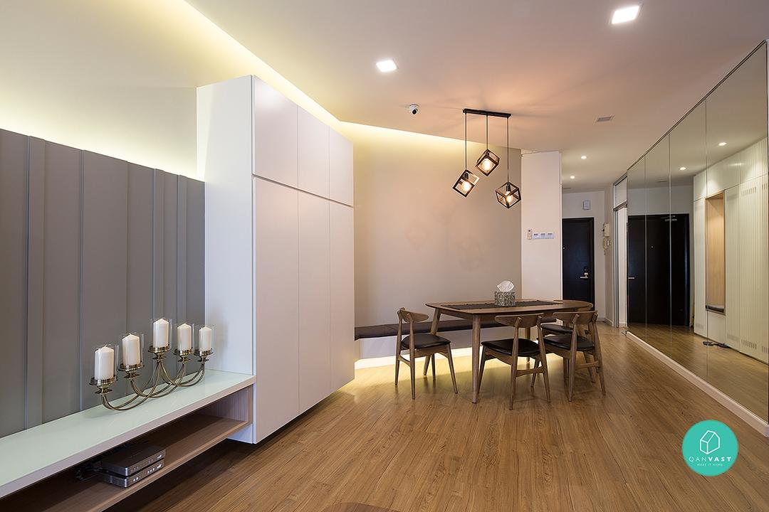 Small Dining Room Ideas Design Malaysia