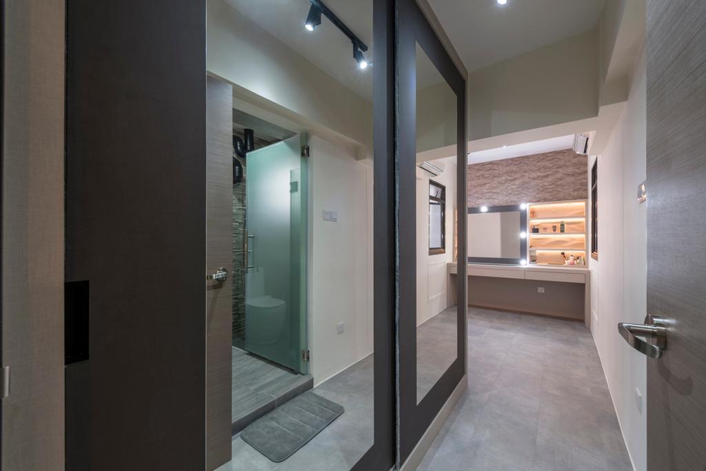 Modern, HDB, Choa Chua Kang Drive, Interior Designer, MET Interior, Building, Housing, Indoors, Loft