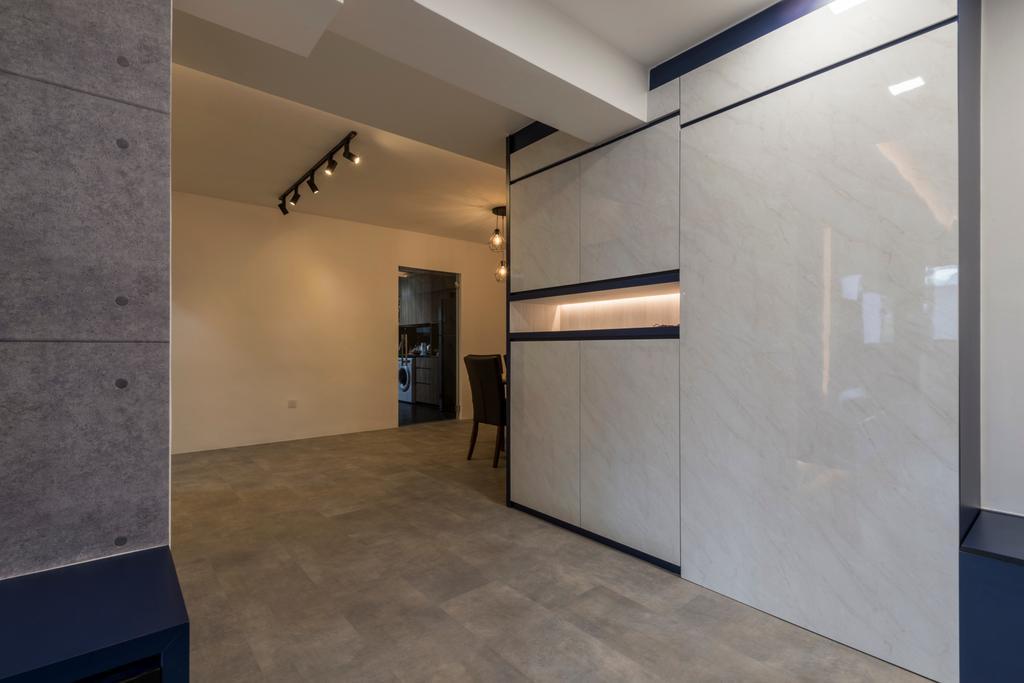 Modern, HDB, Choa Chua Kang Drive, Interior Designer, MET Interior, Floor