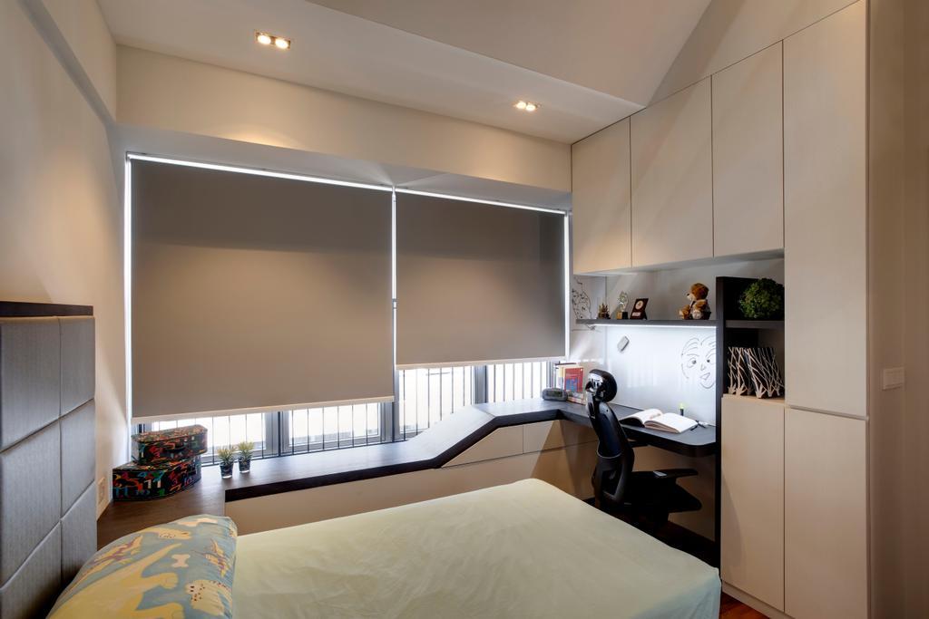 Modern, Condo, Bedroom, The Springside, Interior Designer, The Orange Cube, Indoors, Interior Design, Room