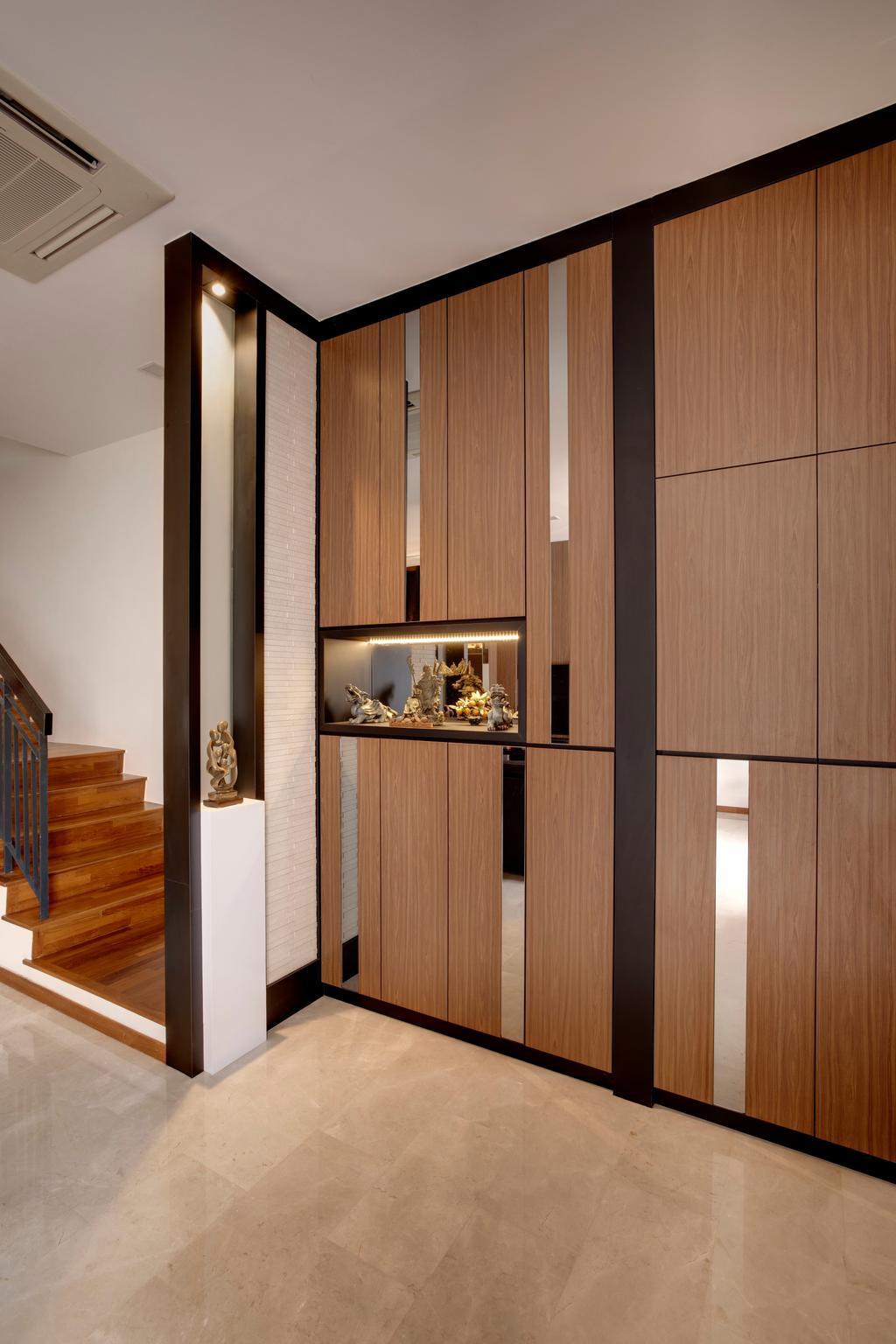 Modern, Condo, The Springside, Interior Designer, The Orange Cube, Banister, Handrail, Staircase