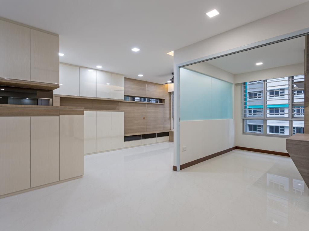 Modern, HDB, Woodlands Rise, Interior Designer, Design Story, Flooring