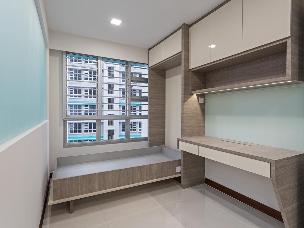 Modern, HDB, Bedroom, Woodlands Rise, Interior Designer, Design Story, Indoors, Interior Design