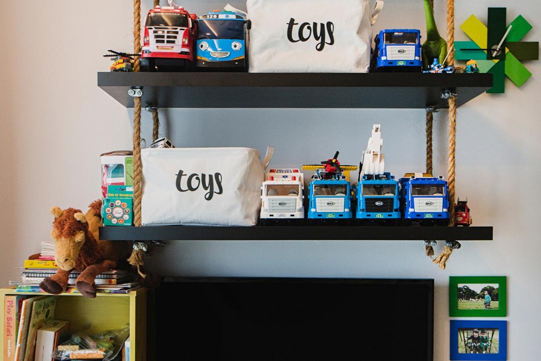 Bellewoods, Cozy Ideas Interior Design, Contemporary, Condo, Teddy Bear, Toy, Desk, Furniture, Table, Arcade Game Machine