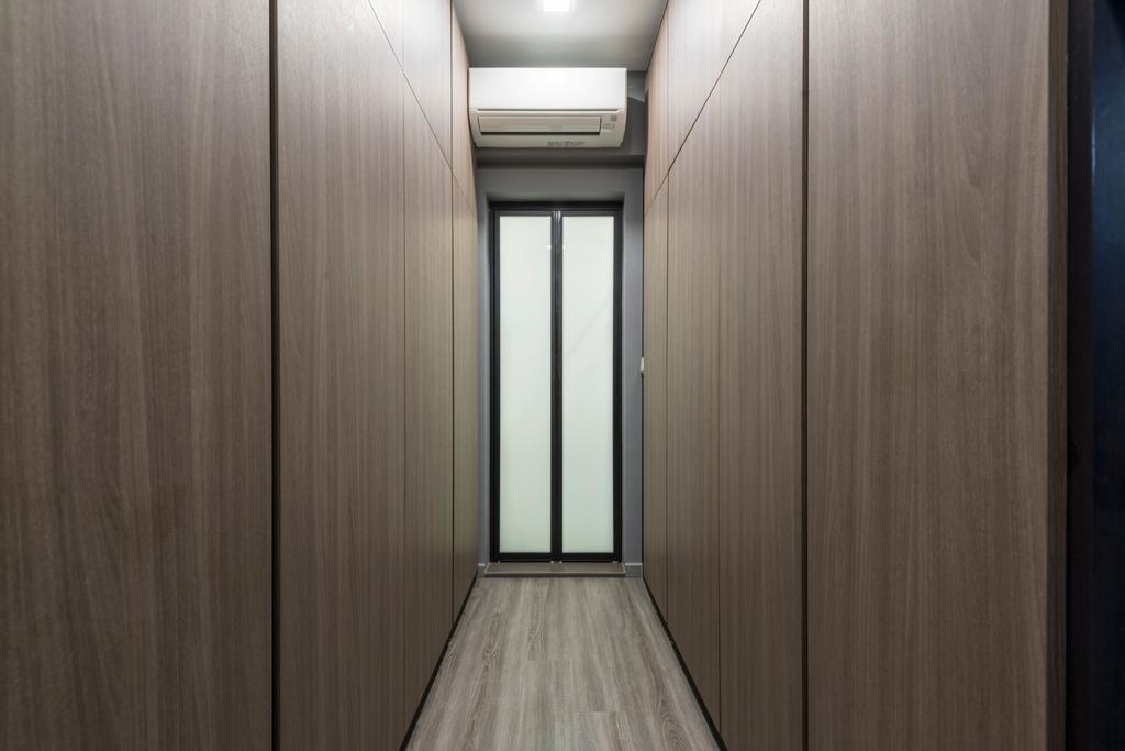 Modern, Condo, Heritage East, Interior Designer, DS 2000 Interior & Design, Corridor, Elevator