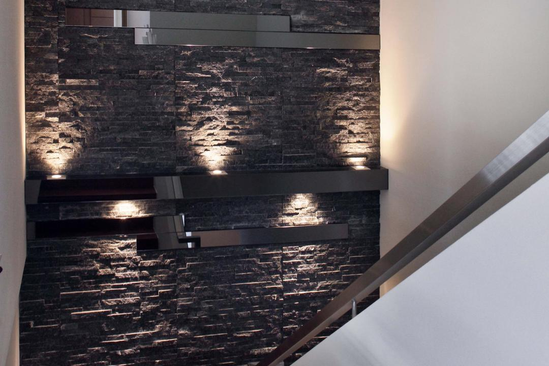 Park Natura, Yonder, Traditional, Contemporary, Condo, Feature Wall, Textured Wall, Brick Wall, Lights, Stairs, Stairway, Fireplace, Hearth