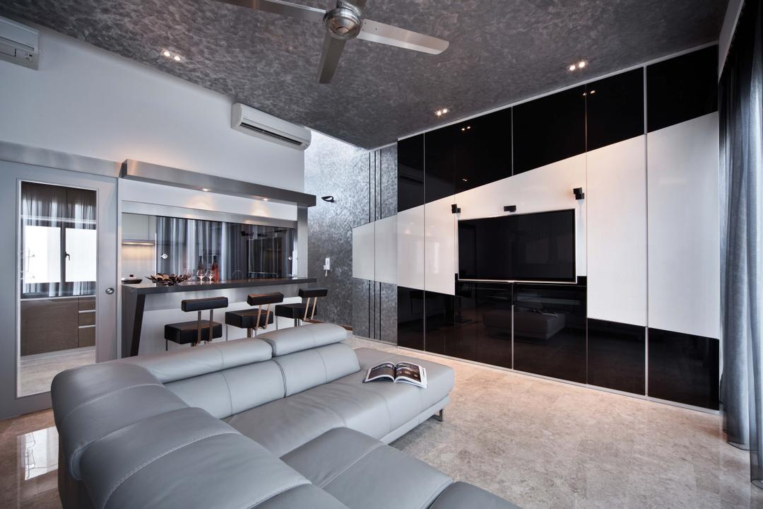 Park Natura, Yonder, Traditional, Contemporary, Living Room, Condo, Sofa, Modern, Marble, Tv, Feature Wall, Bar Table, Bar Chairs, Ceiling Fan, Down Lightt, Couch, Furniture, Indoors, Room