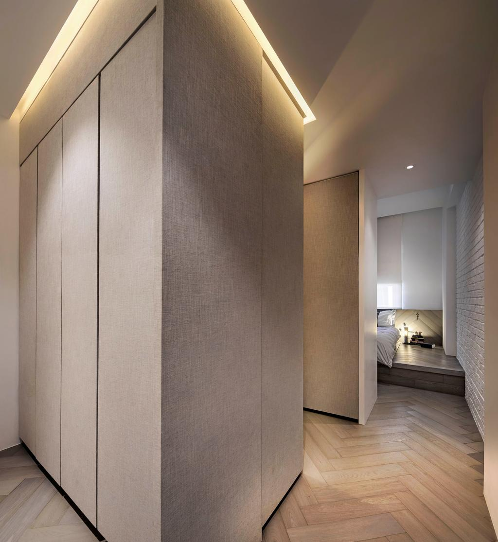 Minimalist, Condo, Mono Apartment, Architect, UPSTAIRS_, Contemporary