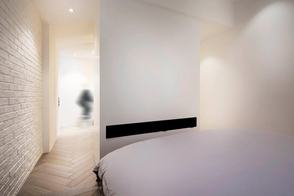 Minimalist, Condo, Bedroom, Mono Apartment, Architect, UPSTAIRS_, Contemporary
