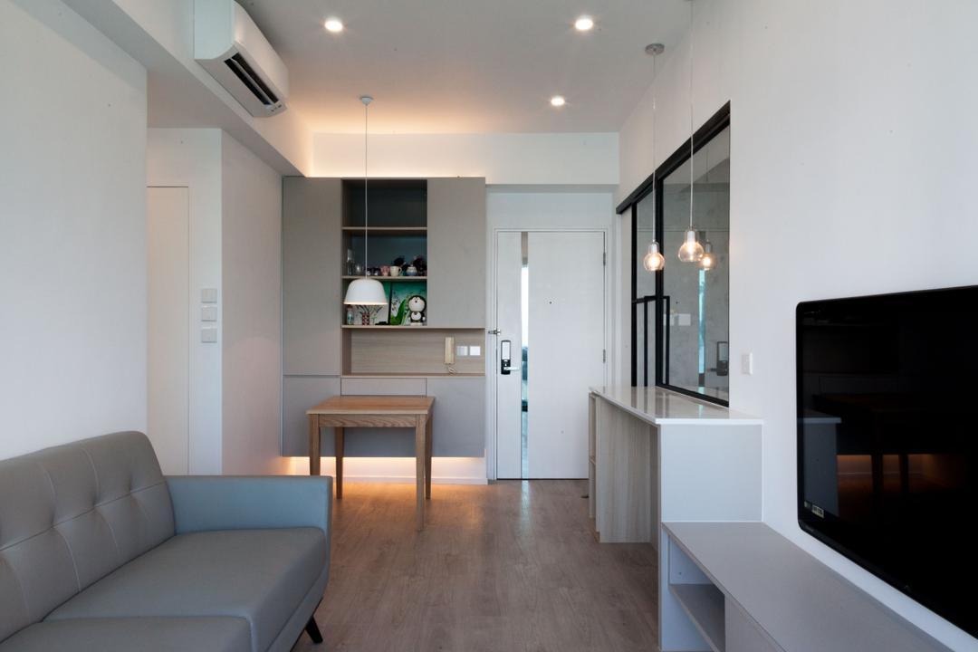 嘉華星濤灣 Living Room Interior Design 12