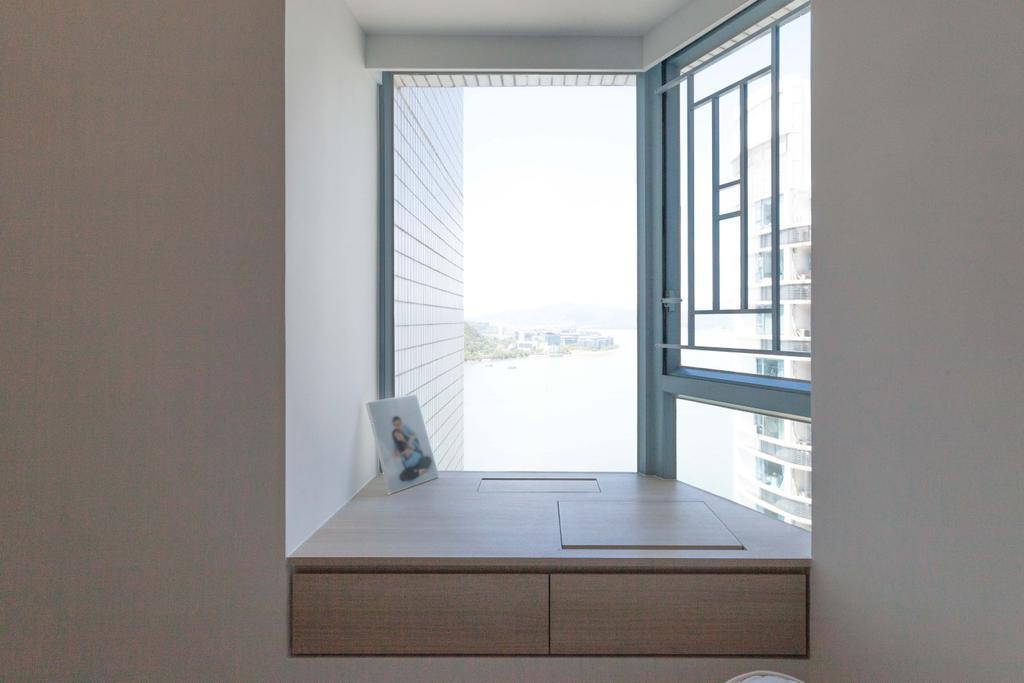 簡約, 私家樓, 睡房, 嘉華星濤灣, 室內設計師, monoo interior Limited, 當代, Platform, Window