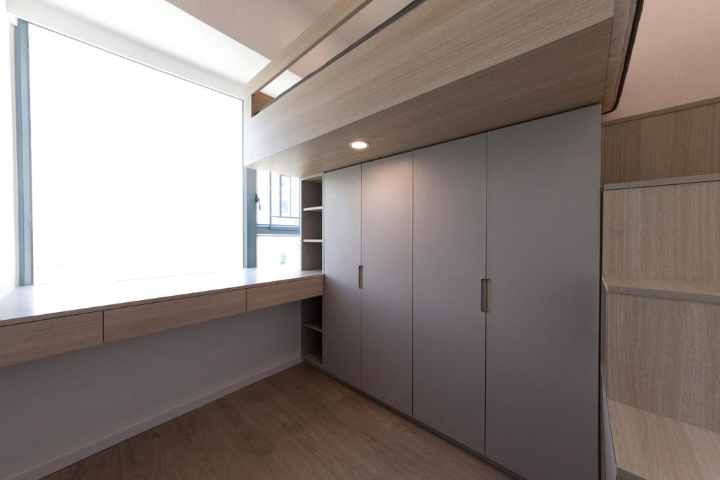 簡約, 私家樓, 嘉華星濤灣, 室內設計師, monoo interior Limited, 當代, Flooring