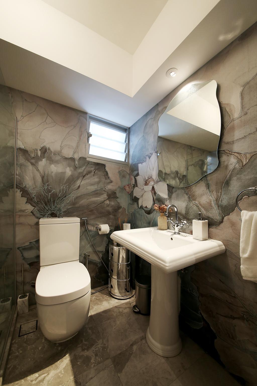 Eclectic, HDB, Bendemeer Road, Interior Designer, D Initial Concept, Plumbing