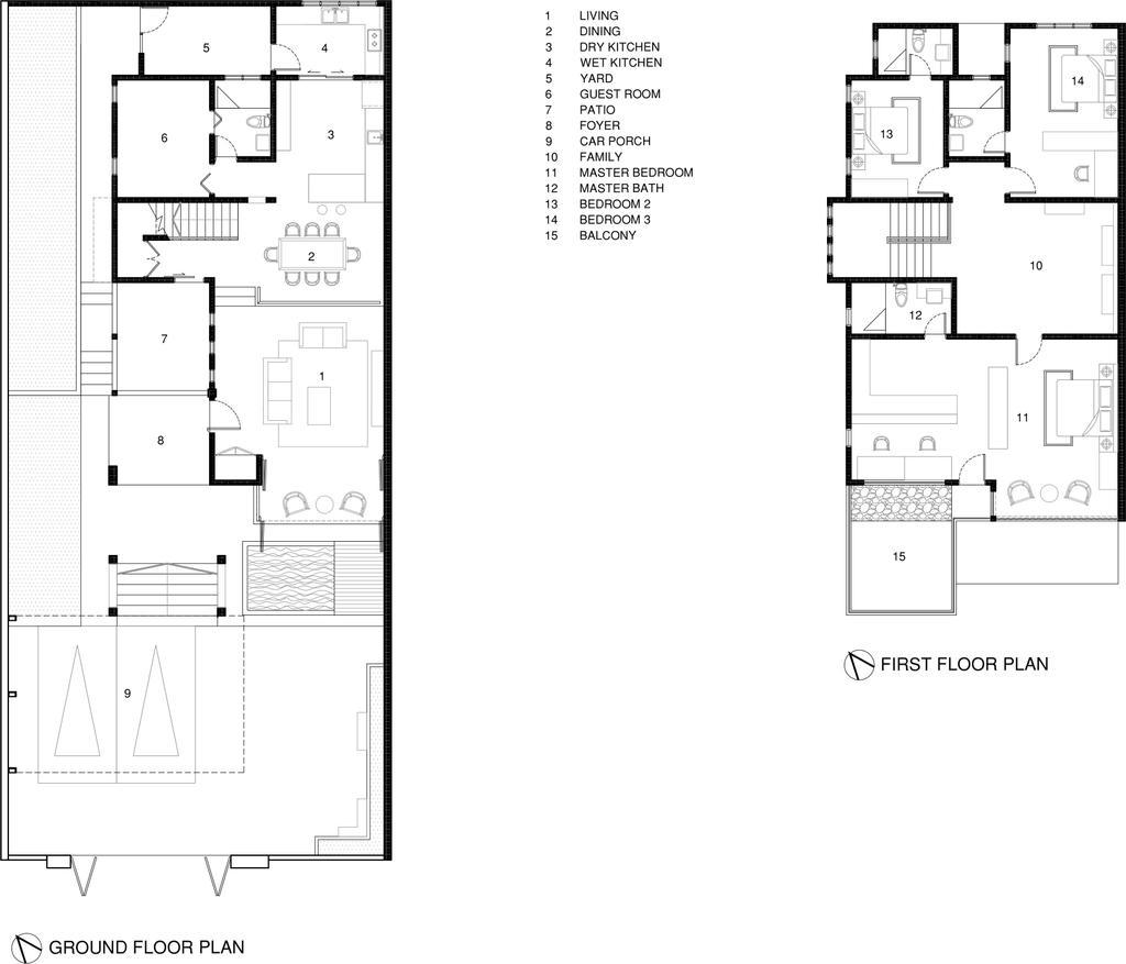 Vintage, Landed, Tasek House, Architect, Code Red Studio, Floor Plan, Diagram, Plan