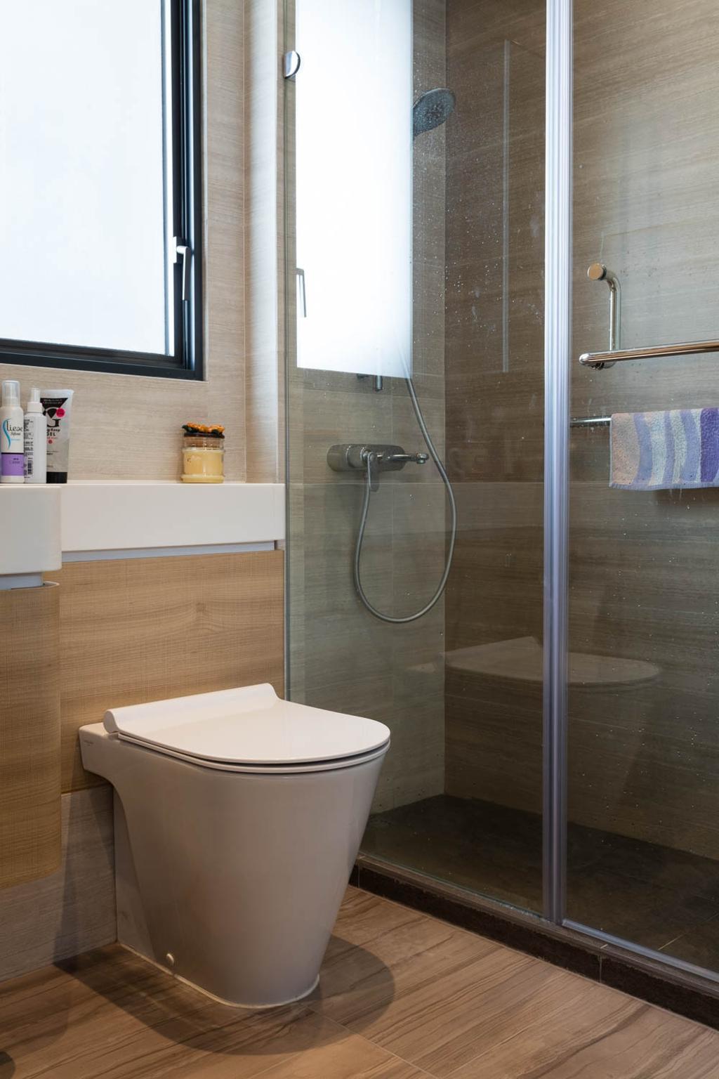 北歐, 私家樓, 浴室, 玖瓏山, 室內設計師, Fixonic Interior Design & Construction
