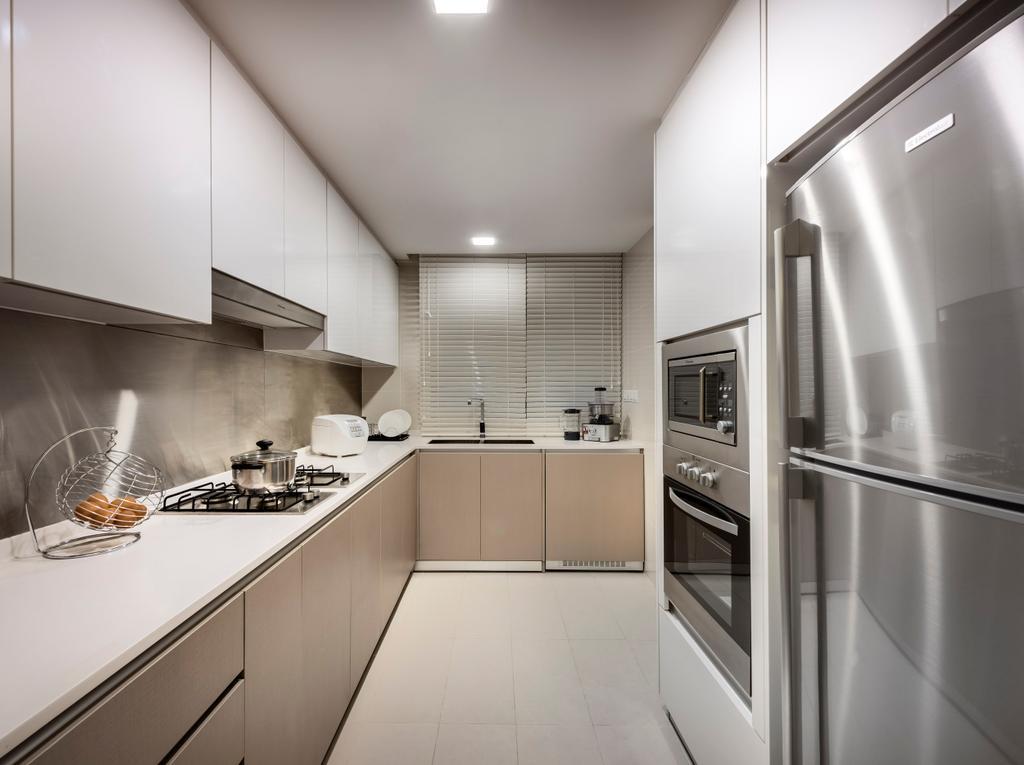 Contemporary, Condo, Kitchen, Hedges Park, Interior Designer, Ciseern, Appliance, Electrical Device, Fridge, Refrigerator