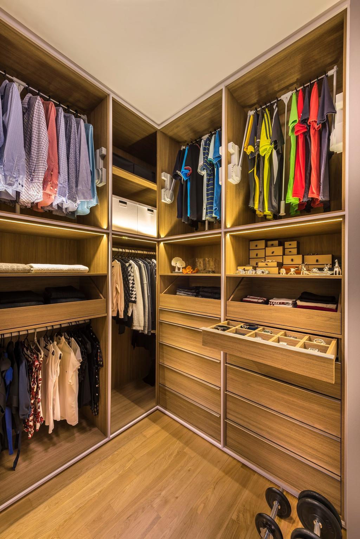 Contemporary, Condo, Bedroom, Hedges Park, Interior Designer, Ciseern, Closet, Furniture, Wardrobe