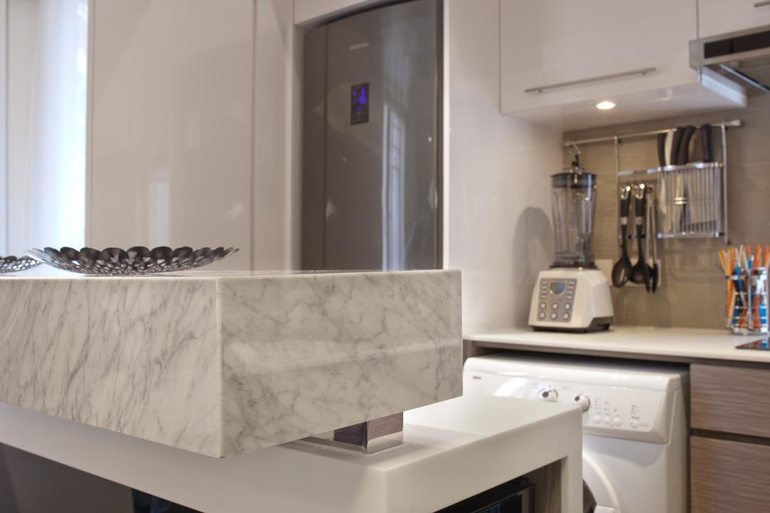宇宙閣, Fixonic Interior Design & Construction, 廚房, 私家樓, Appliance, Dryer, Electrical Device