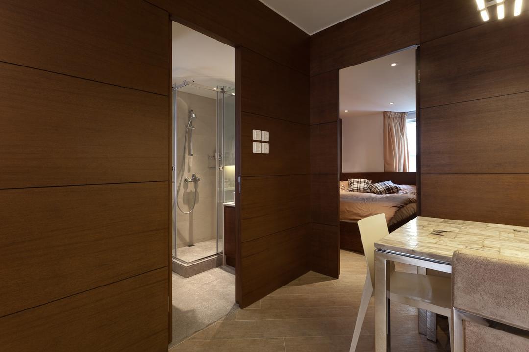 宇宙閣, Fixonic Interior Design & Construction, 客廳, 私家樓, Hallway, Corridor