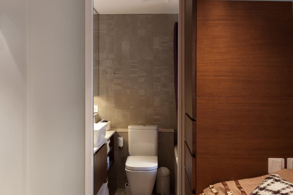 私家樓, 浴室, 宇宙閣, 室內設計師, Fixonic Interior Design & Construction, Toilet, Indoors, Interior Design, Room