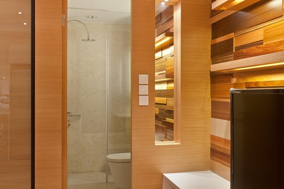 尚巒, Fixonic Interior Design & Construction, 摩登, 浴室, 私家樓, Toilet, Indoors, Interior Design