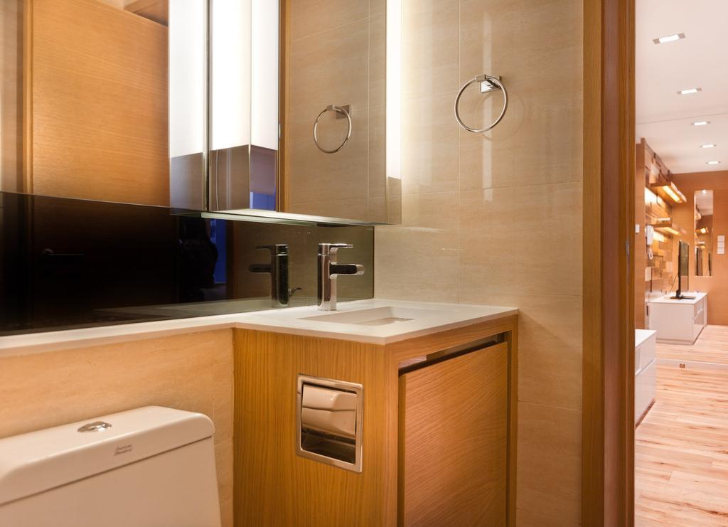 摩登, 私家樓, 浴室, 尚巒, 室內設計師, Fixonic Interior Design & Construction, Sink, Indoors, Interior Design, 廚房, Room