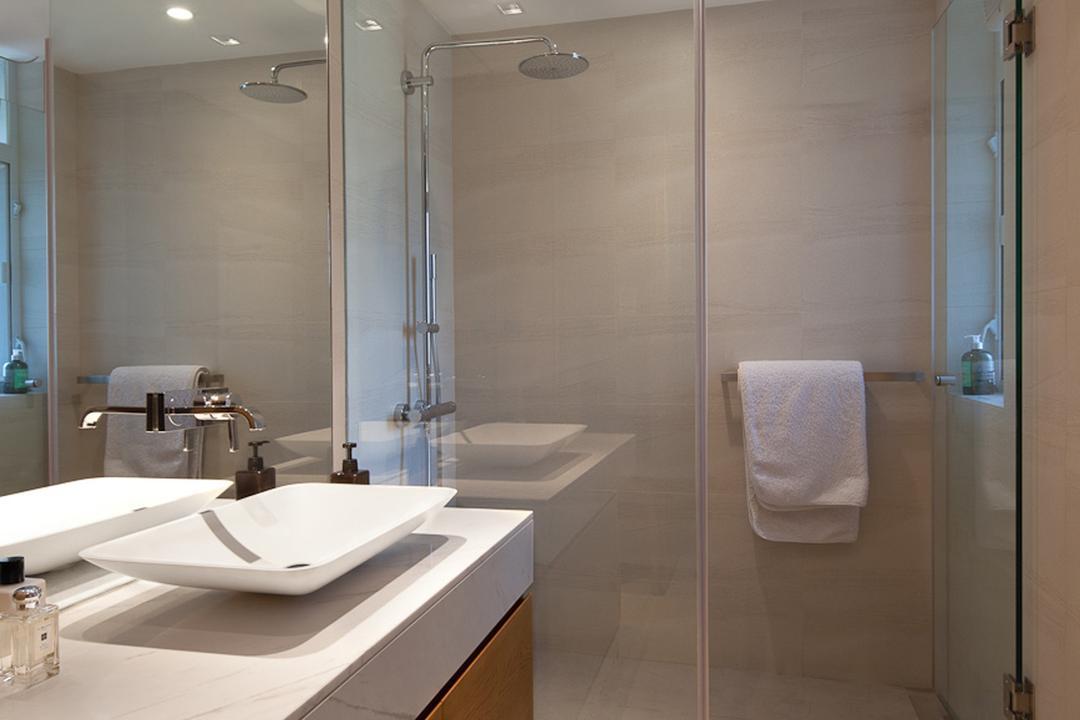 置富花園, Fixonic Interior Design & Construction, 浴室, 私家樓, Toilet, Indoors, Interior Design, Room, Towel