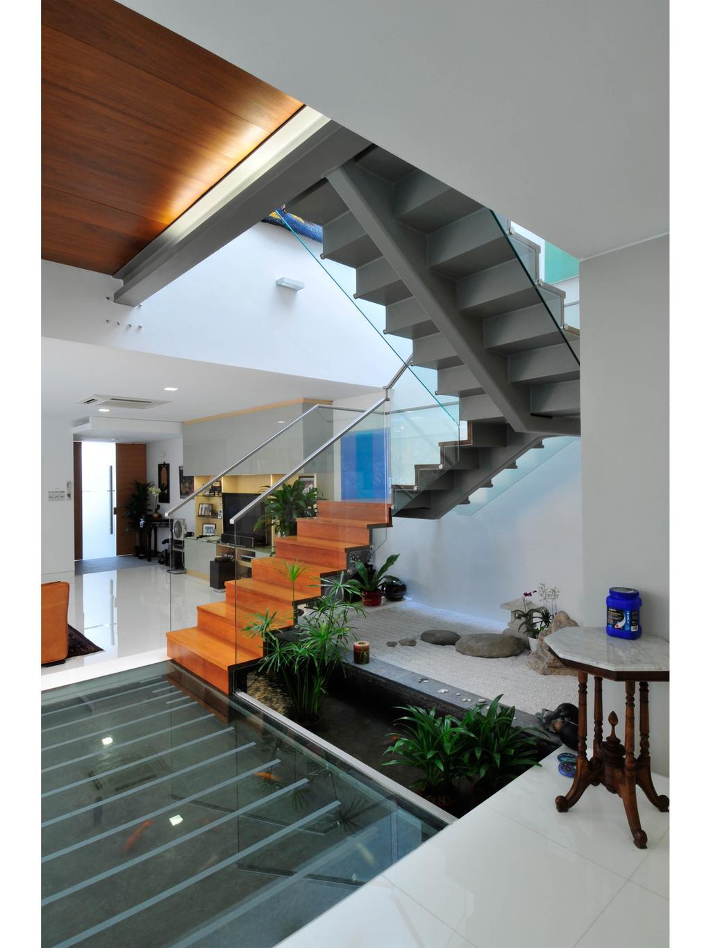 Modern, Landed, 25A Dunbar Walk, Architect, TENarchitects, Flora, Jar, Plant, Potted Plant, Pottery, Vase, Indoors, Interior Design