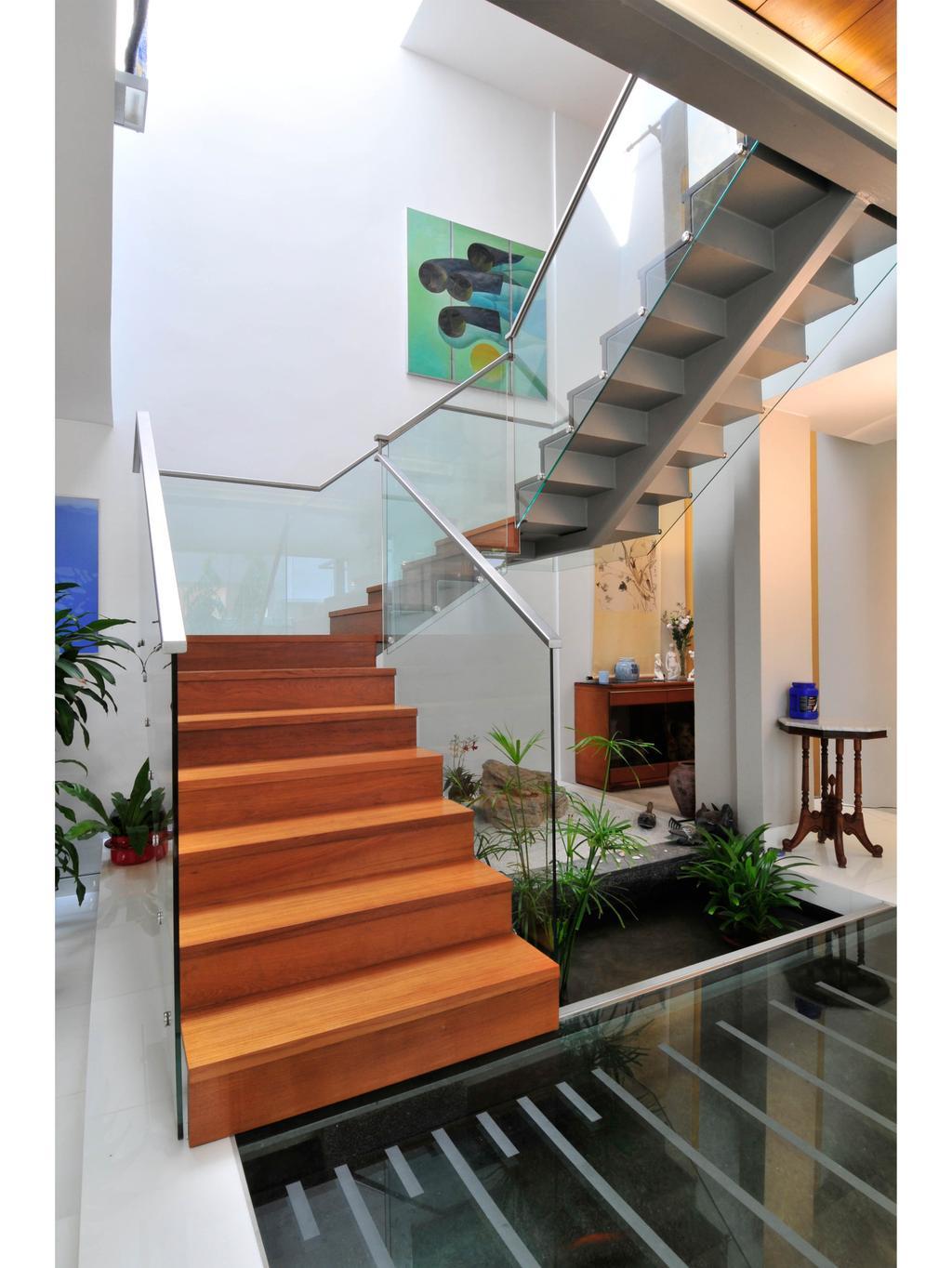 Modern, Landed, 25A Dunbar Walk, Architect, TENarchitects, Flora, Jar, Plant, Potted Plant, Pottery, Vase