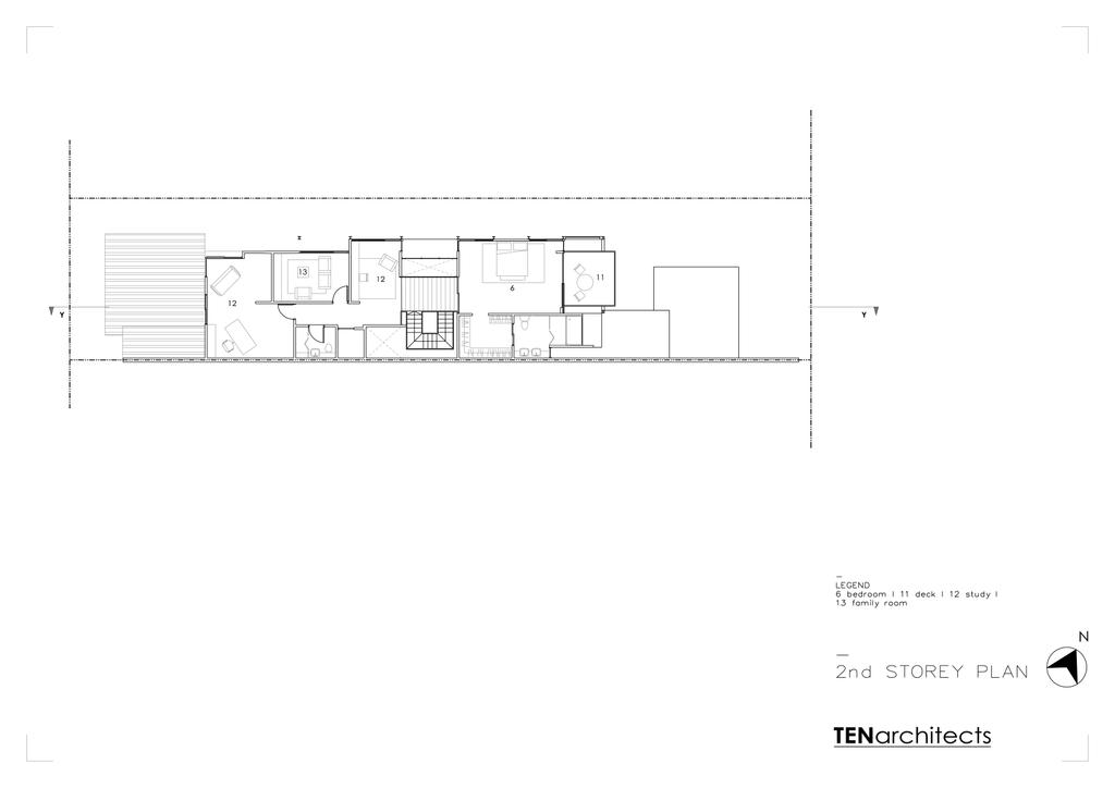 Modern, Landed, 25A Dunbar Walk, Architect, TENarchitects, Floor Plan, Diagram, Plan
