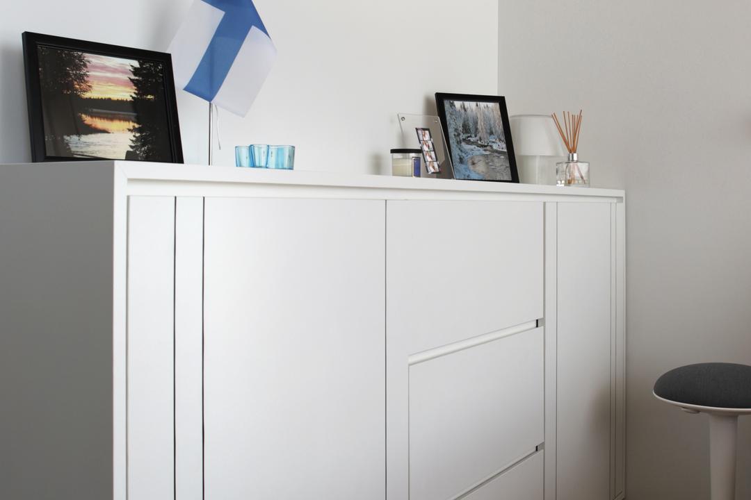 Marine Blue, Prozfile Design, Modern, Condo, Collage, Poster, Canopy