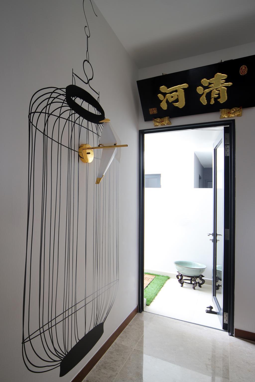 Eclectic, Condo, Eco Sanctuary, Interior Designer, Prozfile Design, Retro