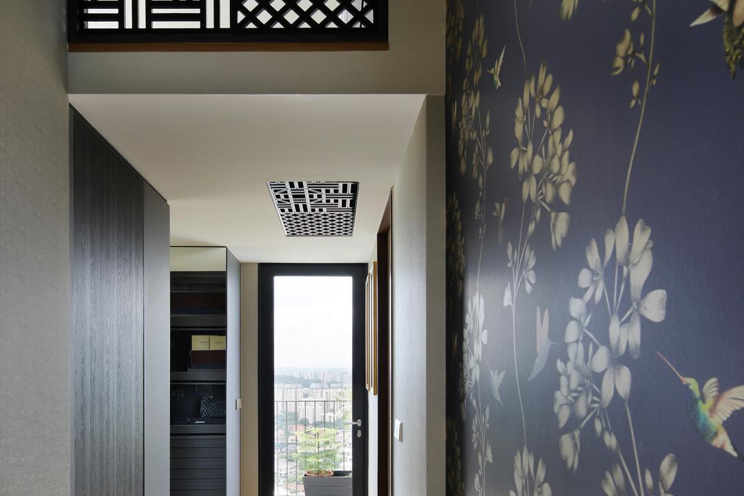 Eco Sanctuary, Prozfile Design, Eclectic, Retro, Condo, Art, Floral Design, Graphic Design, Ornament