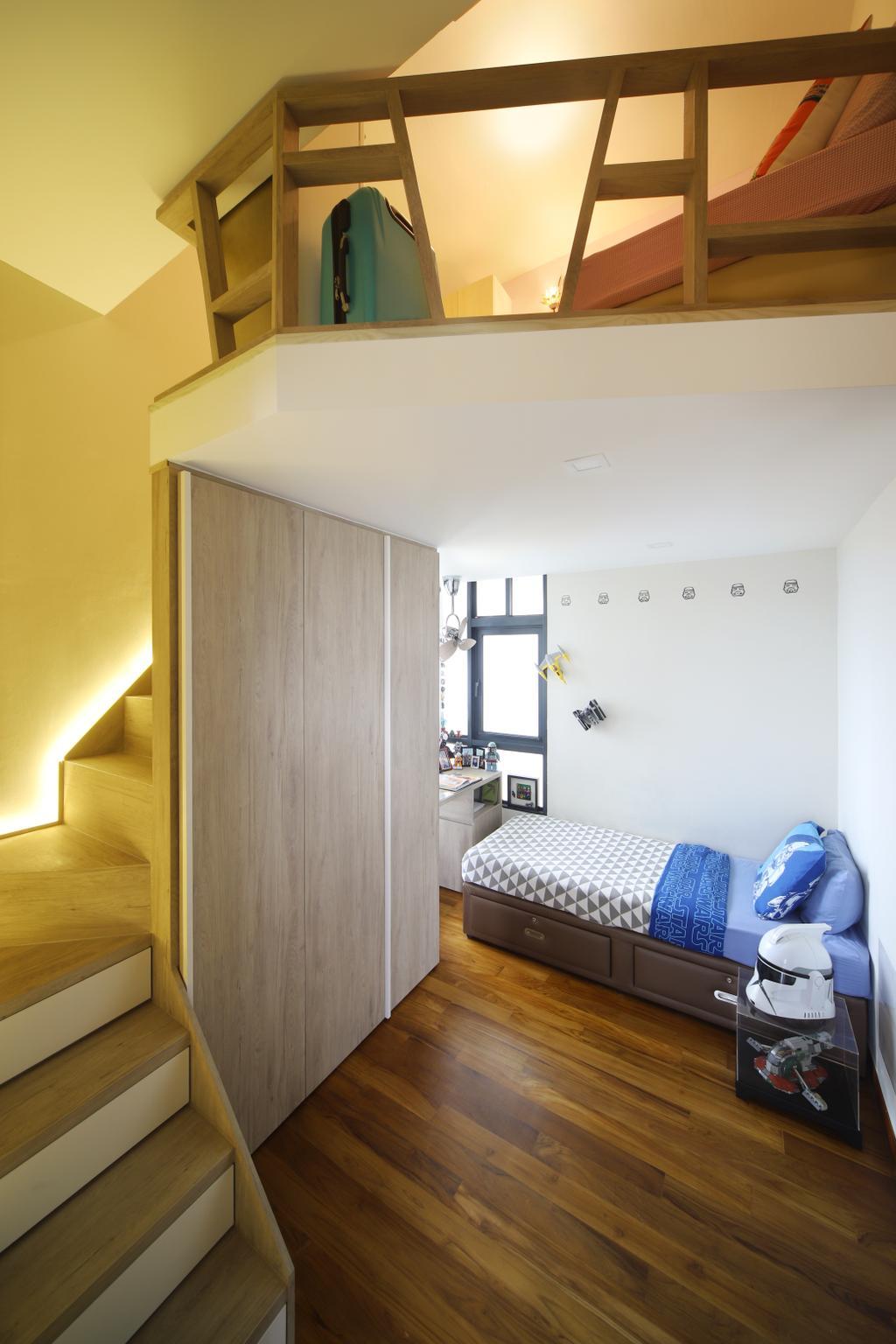 Eclectic, Condo, Bedroom, Eco Sanctuary, Interior Designer, Prozfile Design, Retro, Indoors, Interior Design, Room
