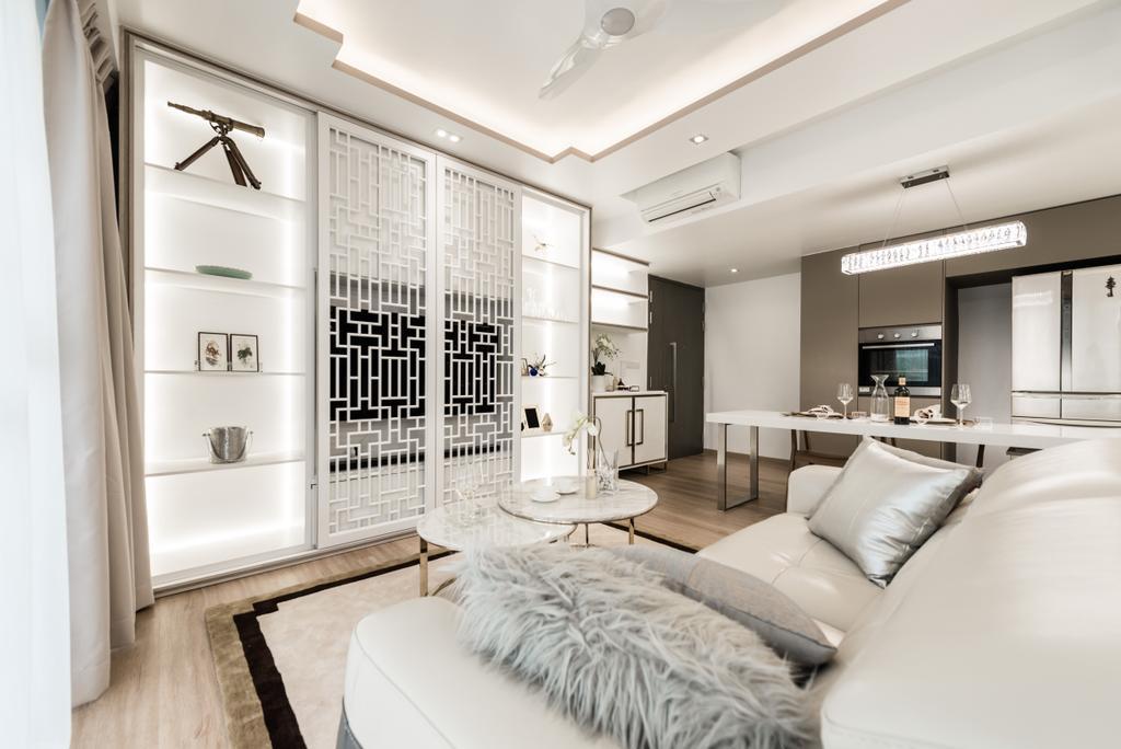 Modern, Condo, Living Room, Bellewaters, Interior Designer, Mr Shopper Studio, Bedroom, Indoors, Interior Design, Room