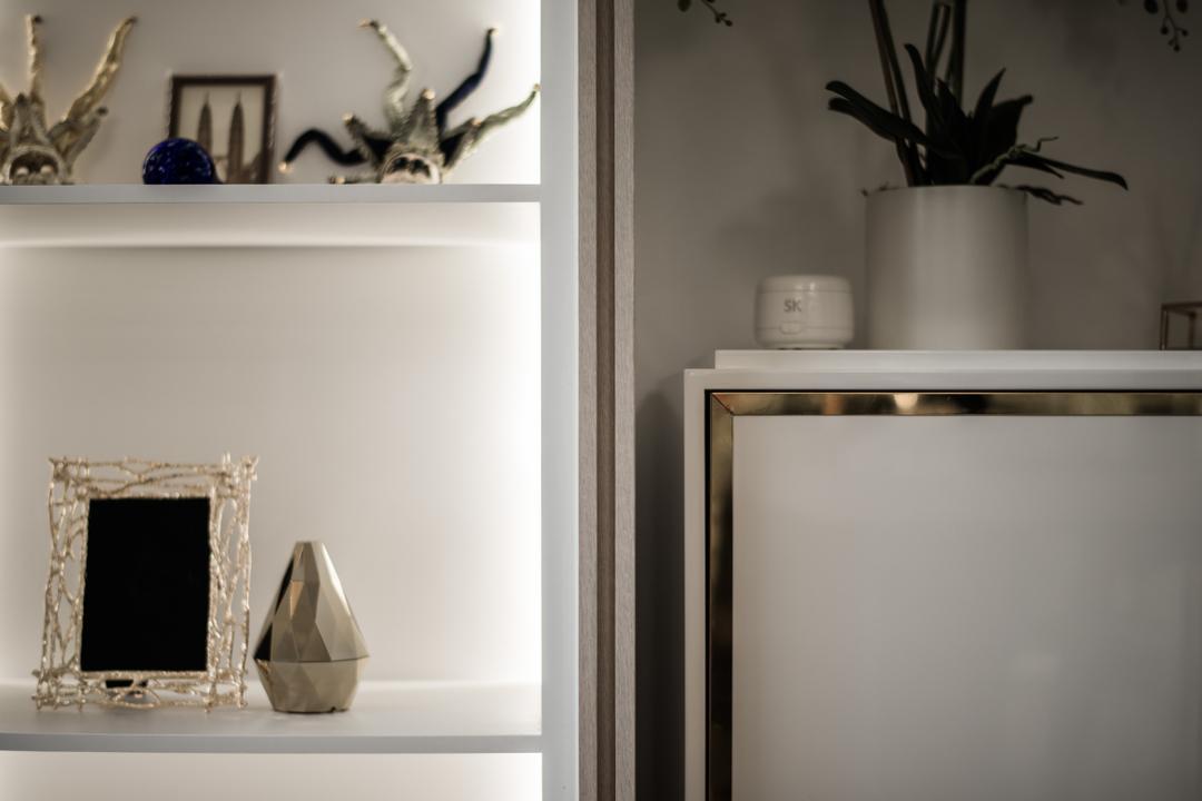 Bellewaters, Mr Shopper Studio, Modern, Condo, Mirror, Antler